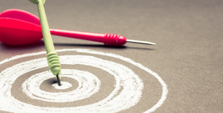 Target and darts, find a literary agent