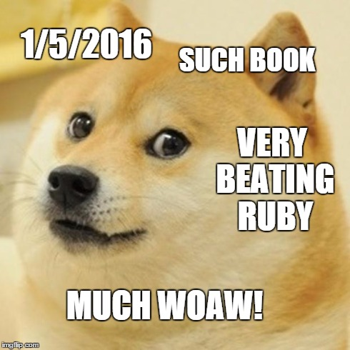 Beating Ruby doge meme