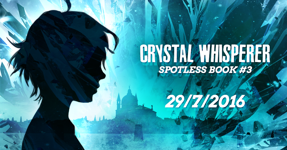Crystal Whisperer Will be Released on July 29th, 2016!