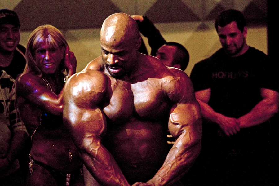 Ronnie Coleman, 8 times Mr. Olympia