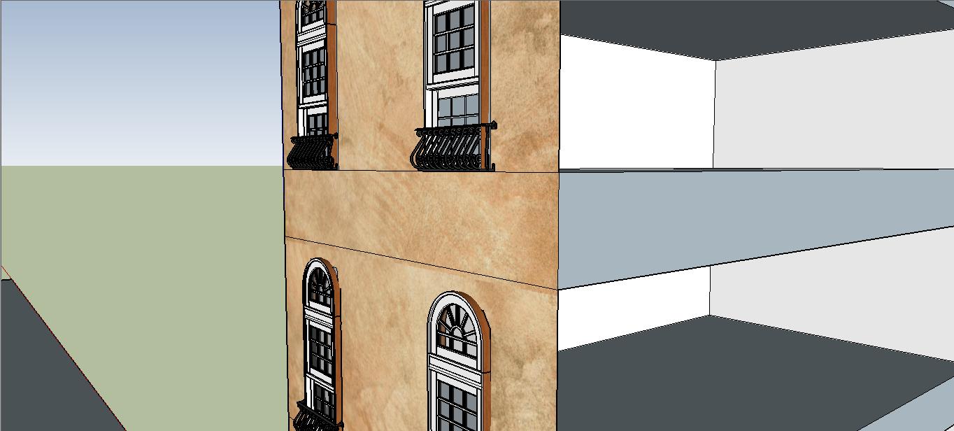 Use of 3D in Spotless #3, Crystal Whisperer - Dikkenek's house in Venice