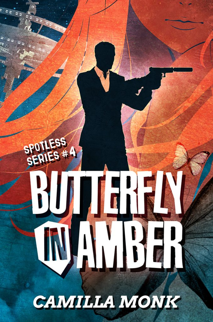 Butterfly in Amber by Camilla Monk