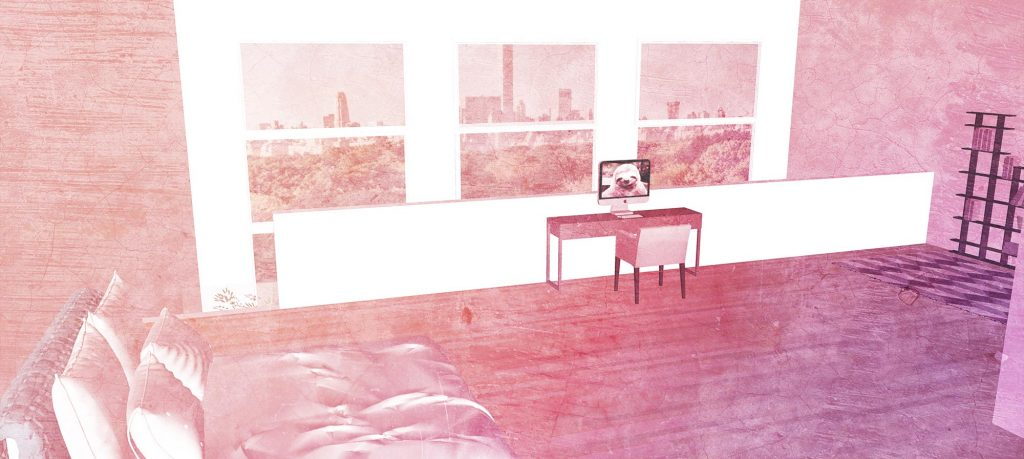 March's apartment in New York