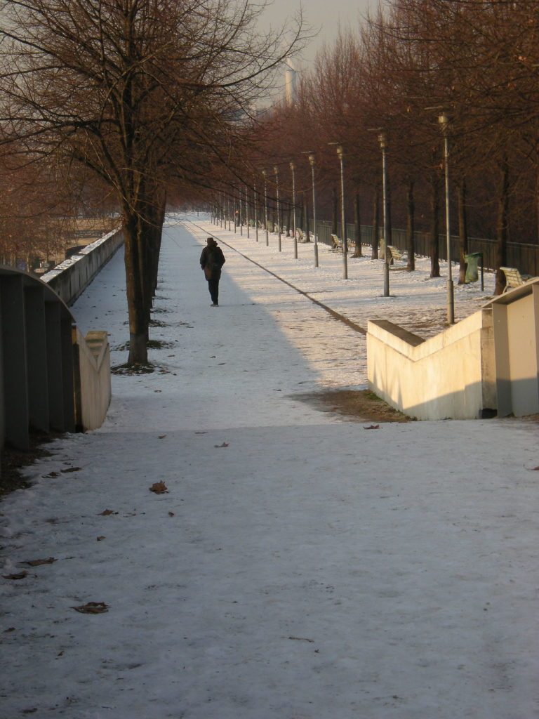 The Parc de Bercy, near where I used to live, and where I was assaulted and raped at 17. Wikimedia Commons.