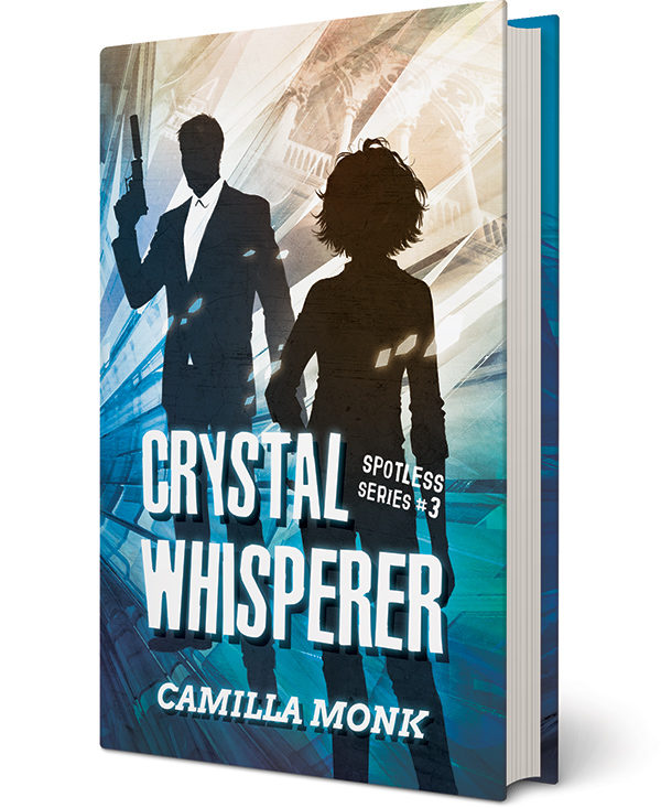 Crystal Whisperer, a novel by Camilla Monk