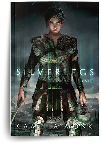 Silverlegs, a novel by Camilla Monk