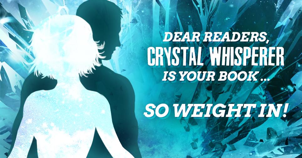 Crystal Whisperer, Spotless Series book 3