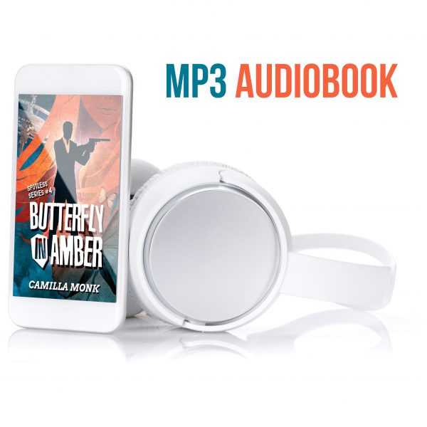 Butterfly in Amber Audiobook by Camilla Monk and Amy McFadden