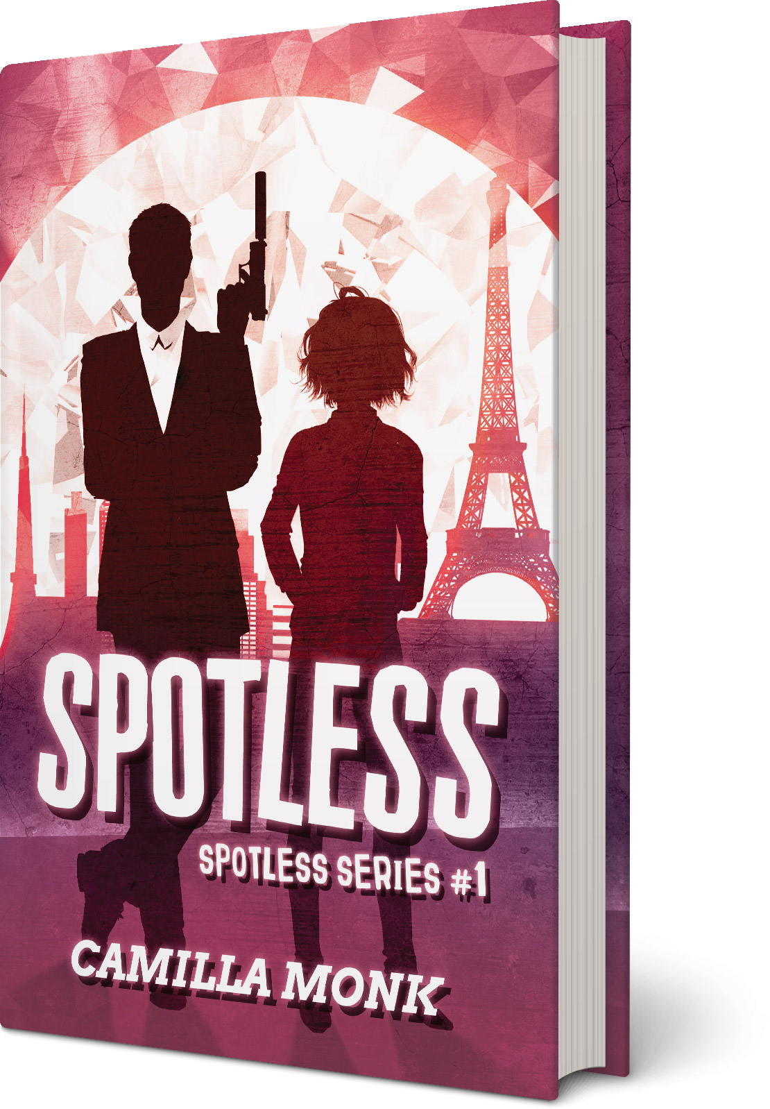Spotless, a novel by Camilla Monk